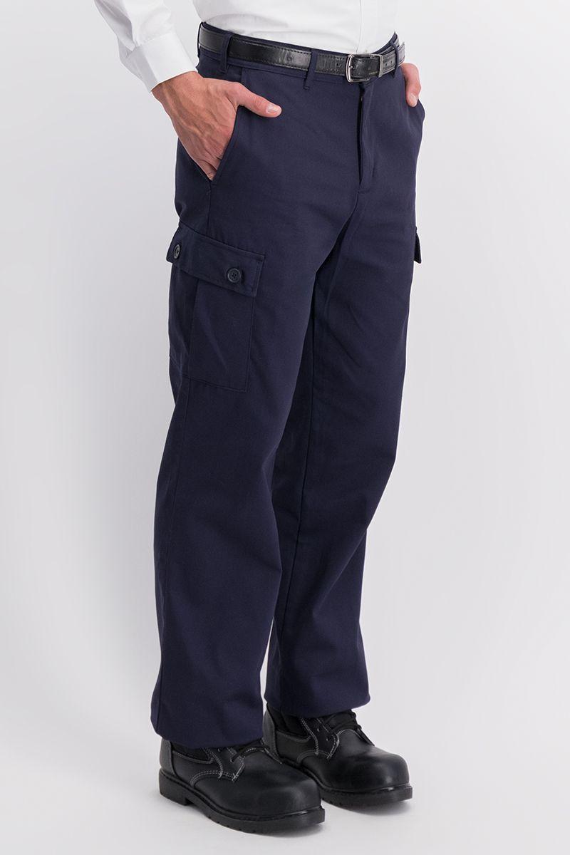 Pantalon Industrial Tipo Cargo 100 Algodon Unitam Uniformes