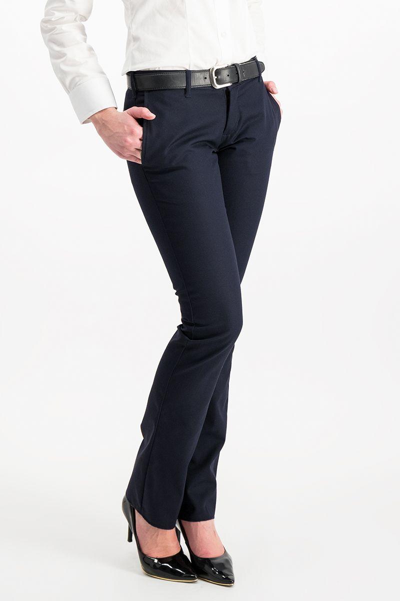 Pantalon Corte Recto De Dama Unitam Uniformes
